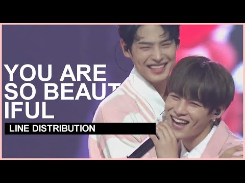 SF9 x VICTON - You Are So Beautiful | Line Distribution
