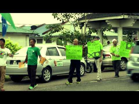 "Flashmob : ""Ini Kalilah !"" Pekan Awah Maran"