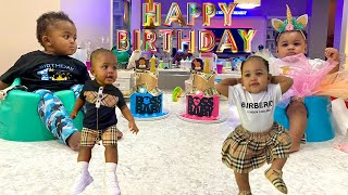 First Birthday Party Ever For The So Cool Twins!