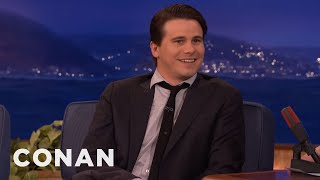 Jason Ritter Can't Resist Simon Helberg's Dares  - CONAN on TBS