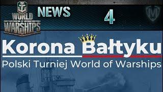 World Of Warships - NEWS - Polski turniej Korona Bałtyku!