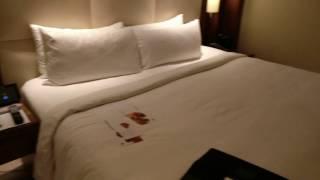 My Hotel Room @ JW Mariott Marquis 5 Star Dubai, UAE