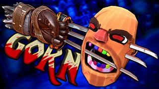 WOLVERINE CLAWS - Gorn (VR) Funny Moments