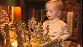 Michael Jackson playing chess with son, Prince Michael (Long Version)