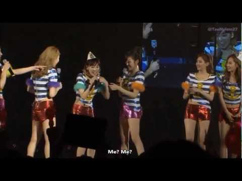 [ENG SUB] SNSD Dorky Dance Talk @ 2011 Girls' Generation Tour DVD