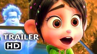WRECK-IT RALPH 2 Official Trailer # 2 (NEW 2018) Ralph Breaks the Internet, Disney Movie HD