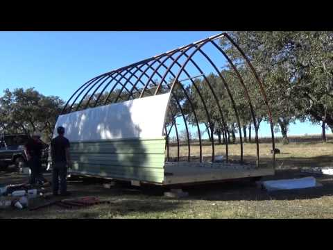 Bow roof shed movie musica movil for Bow roof shed