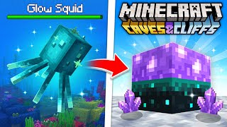 Minecraft CAVES & CLIFFS - EVERYTHING YOU MISSED! (Summer Update)