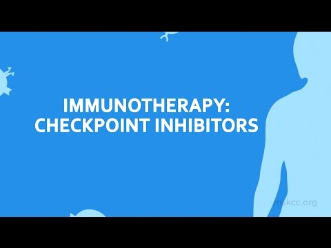Immunotherapy: Checkpoint Inhibitors