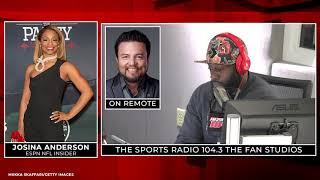 INTERVIEW   Nick and Cecil catch up with ESPN NFL Insider Josina Anderson