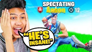 Spectating RANDOM Players in Fortnite