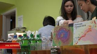 Người Việt trợ giúp nạn nhân bão Florence (VOA)