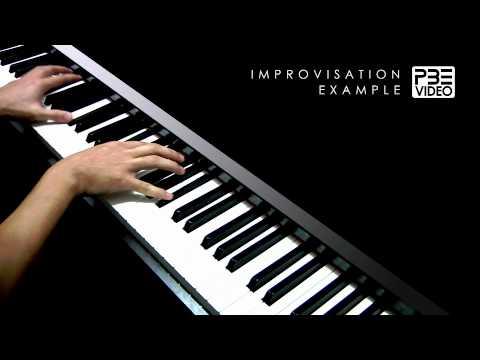 最重要的决定   范玮琪   PBE Piano Improvisation Example