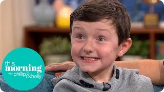 10 Year-Old Child with Autism Who Learnt to Speak Watching This Morning | This Morning