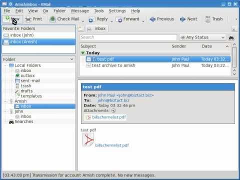 BtMail External E-mail Control