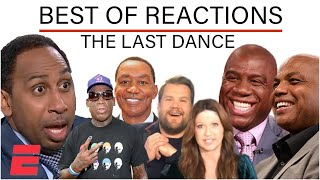 The Best Reactions to 'The Last Dance' featuring Stephen A., Isiah Thomas & Dennis Rodman
