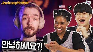 Korean Teen and American React To