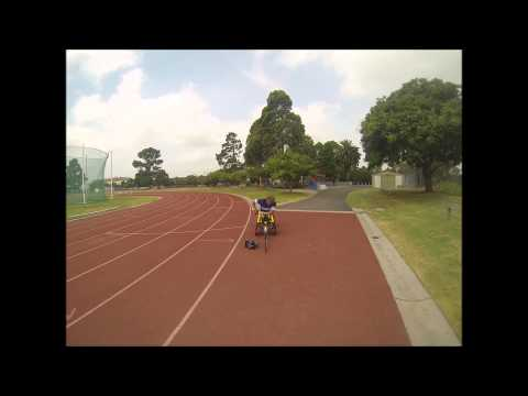 How i get in and out of my racing chair
