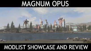MAGNUM OPUS - Fallout 4 Modlist - Showcase & Review