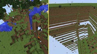 What Happens If Minecraft Blocks Were Affected by Gravity