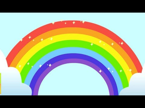 Rainbow Song - Animated Learning Song For Children - YouTube