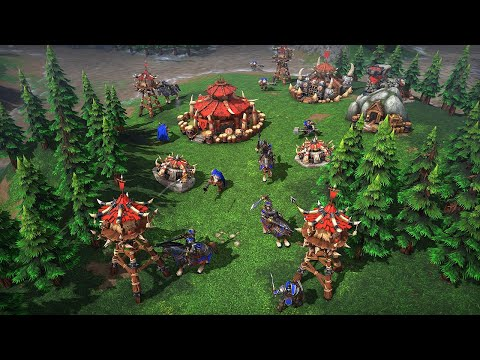 Warcraft 3: Reforged' Is an HD Remaster of the 2002 Classic