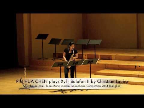 PIN HUA CHEN plays Xyl Balafon II by Christian Lauba