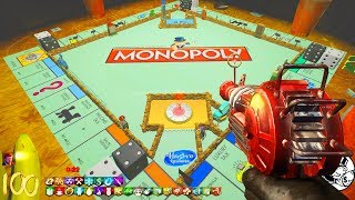 MONOPOLY ZOMBIES CHALLENGE BOARD...