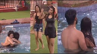 Aishwarya Reveals Her True Character In Swimming Pool? Bigg Boss 2 Tamil Day 53 Midnight Masala