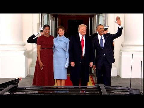 Trump's Private Moments With Obama