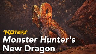 Taking On Monster Hunter's New Dragon