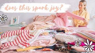 SPRING CLEANING | Marie Kondo-ing my life! ✨