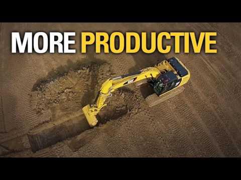 Cat 323F Hydraulic Excavator  |  Integrated Technology  |  Thompson Machinery
