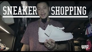 Sneaker shopping with Daboyway