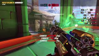 OVERWATCH: SHAMANWOLF PHARAH POTG PLAY OF THE GAME 01