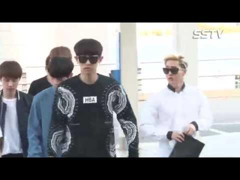 엑소(EXO) 출국, 그들이 뜨면 공항이 HOT! '열애 중 백현은?' [SSTV]