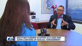 Another former staffer accuses Rep. John Conyers of sexual harassment