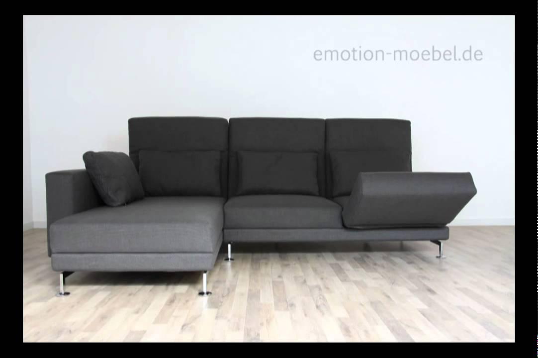 br hl moule design und funktionssofa in stoff youtube