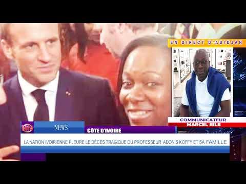 NTV NEWS : La vérité sur la mort du professeur Adonis Laurence YA