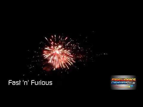 Fast & Furious - 25 shot firework