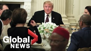 Trump attends Ramadan iftar dinner at The White House