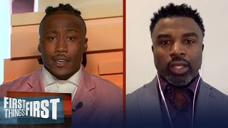 Brian Westbrook on Michael Thomas injury & impact of absence on Saints | NFL | FIRST THINGS FIRST