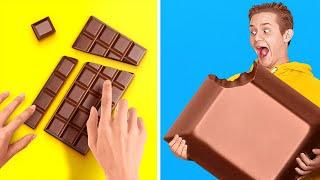 FUNNY TIK TOK FOOD TRICKS AND PRANKS || Viral Food Hacks by 123 GO! FOOD
