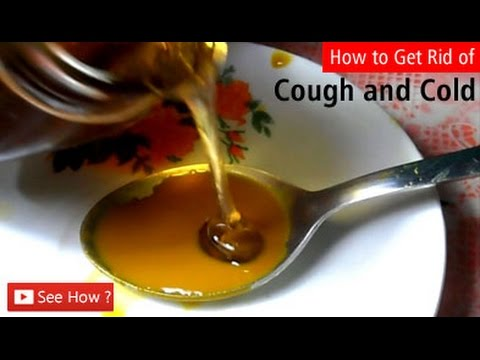 How to Get Rid of Cough and Cold ?