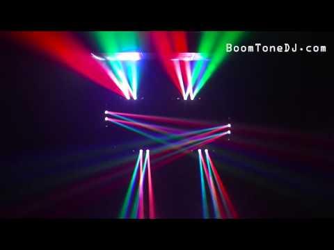 Vidéo BoomToneDJ - Moving Bar 8x15 (français)
