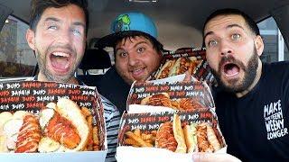 EXTREME HOT CHICKEN MUKBANG with JOSH PECK and JONAH!!