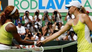 Serena Williams vs Maria Sharapova 2005 AO Semifinal Highlights
