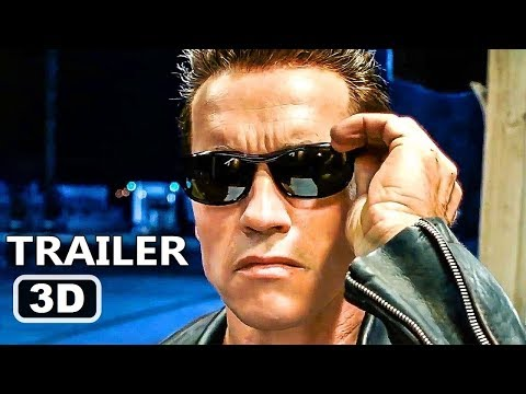 Terminator 2 Judgment Day 3D #YT3D Trailer #1 2017