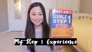 USMLE Step 1 Experience: Study Plan + Score Reports