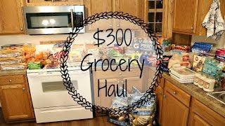 $300 Grocery Haul || Sam's Club || Kroger